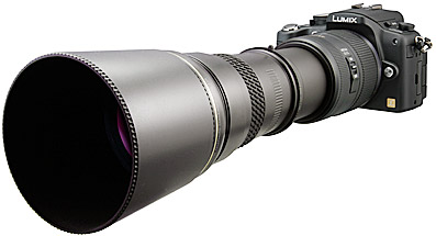 complément optique Panasonic G1 chez Raynox